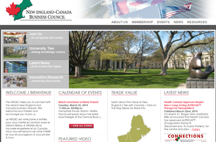 NEW ENGLAND CANADIAN BUSINESS COUNCIL