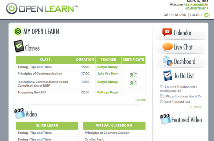 OPEN LEARN – MOBILE