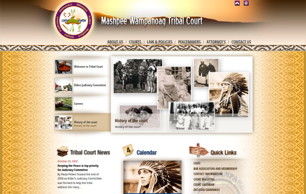 TRIBAL COURT – MASHPEE WAMPANOAG TRIBE