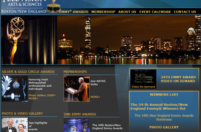 NEW ENGLAND EMMY AWARDS